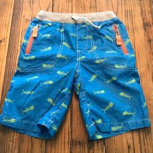 Boys fish bone shorts